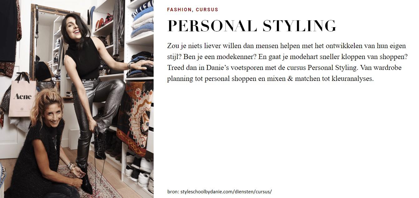 Foto TOF Diemen gaat op cursus Personal Styling van Danie Bles