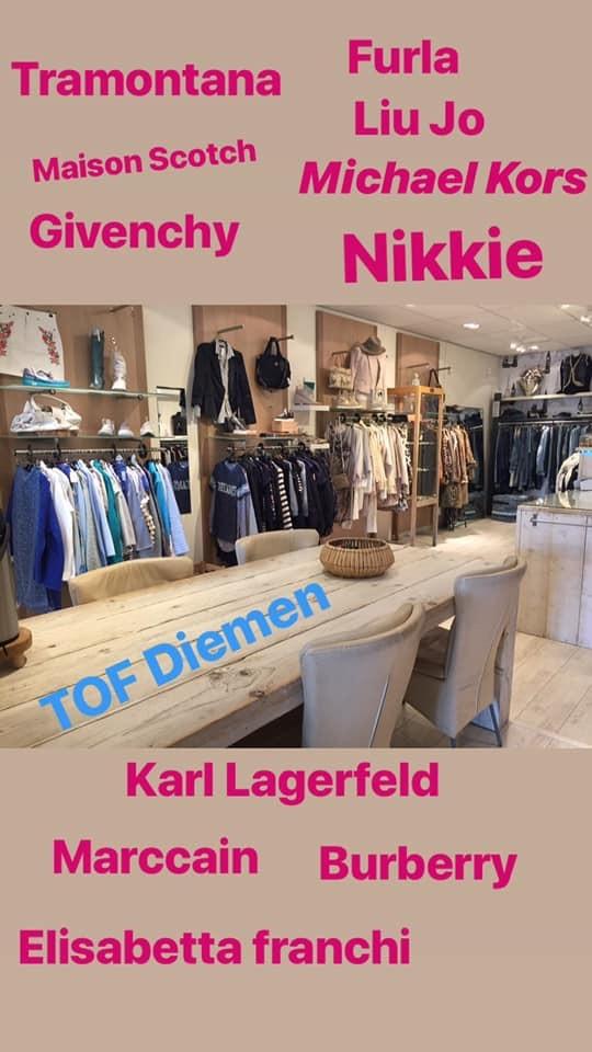 TOF Diemen - Waarom een echte winkel in tweedehands dameskleding